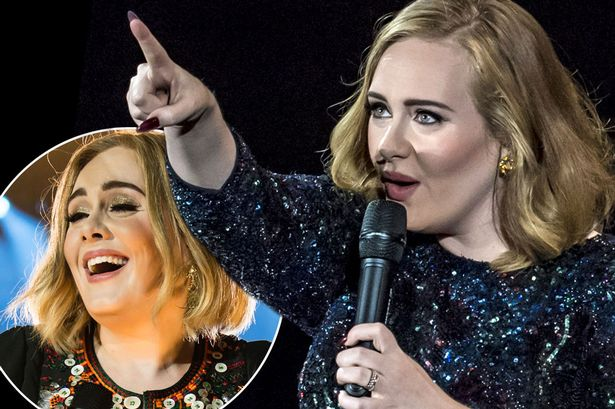 adele middle aged woman