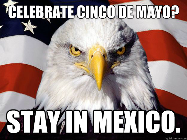 Cinco De Mayo Eagle