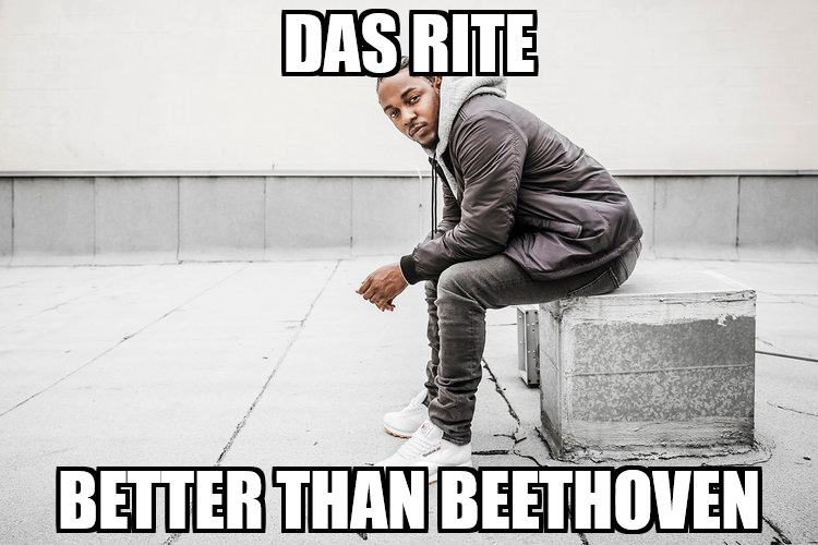 kendrick lamar better than beethoven