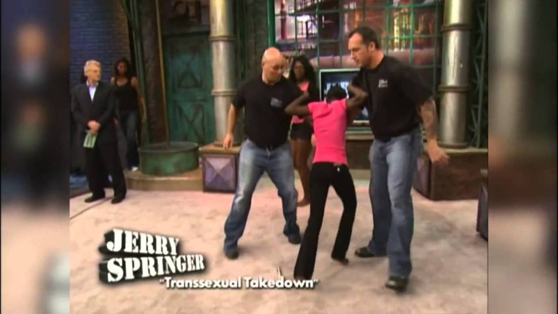 Jerry Springer Trans Takedown