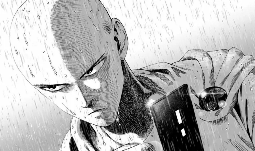 One Punch Man Rain